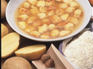Minestra fritta di patate