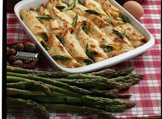 Ricetta Crepe agli asparagi