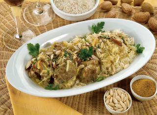 Ricetta Agnello al curry con riso pilaf