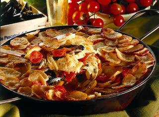 Ricetta Riso al forno con cozze e patate