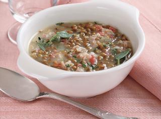 Minestra di lenticchie del Boè