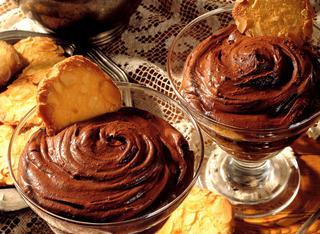 Mousse soffice di cioccolato