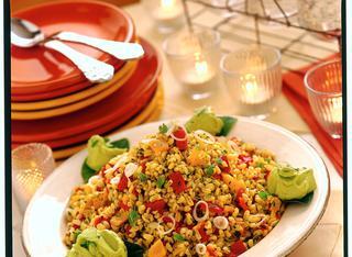 Ricetta Taboulé di grano con peperoni