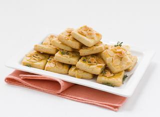 Ricetta Biscotti salati alle mandorle