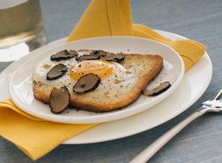 Ricetta Uova in crosta di pane con tartufo