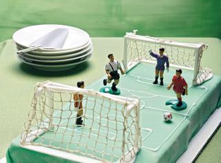Ricetta Un campo di calcio per papà