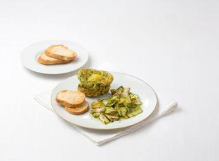 Muffin di frittata con zucchine