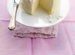 Soufflè gelato di limone alla meringa