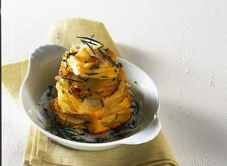 Ricetta Sformatini di patate alle erbe