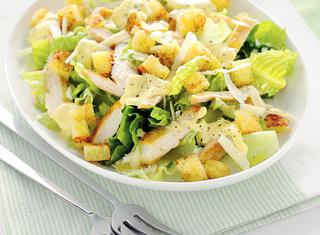 Ricetta Caesar salad con pollo