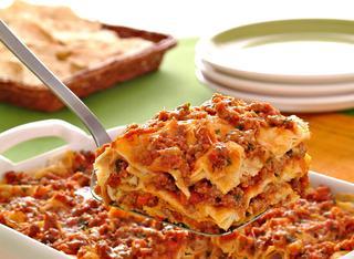 Ricetta Lasagne di pane carasau con ragù e pecorino