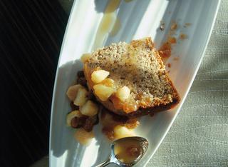 Ricetta Torta meravigliosa di pere e noci