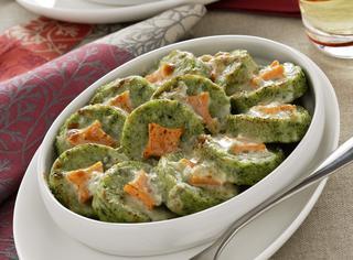 Ricetta Gnocchi di semolino agli spinaci