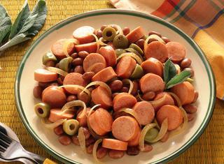 Ricetta Wurstel con verdure