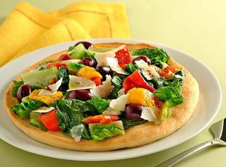 Ricetta Pizza bianca con scarola e peperoni