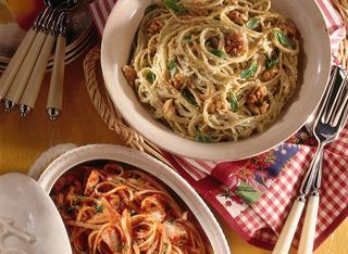Spaghetti alla noce