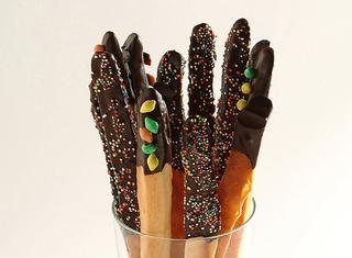 Ricetta Grissini dolci al cioccolato