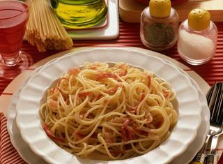 Spaghetti mantecati