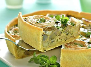 Ricetta Crostata di carciofi, patate e chèvre