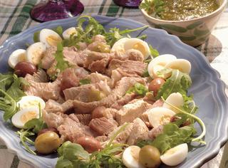 Ricetta Bollito di manzo con salsa verde