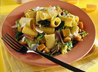 Ricetta Pasta con verza e zucca