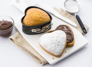 Mini torte romantiche