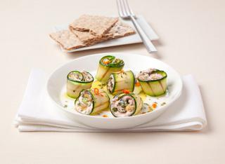 Rotolini di zucchina