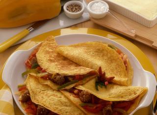 Omelettes ungheresi