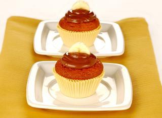 Cupcake con crema di nocciole