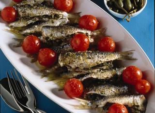 Sarde saporite alla siciliana