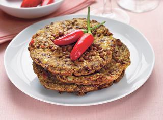 Ricetta Frittelle di lenticchie