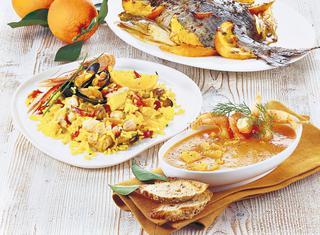 Ricetta Sarago arrostito con indivie all'arancia