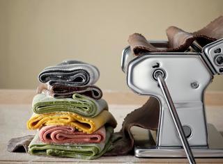 Ricetta Pasta multicolore fatta in casa