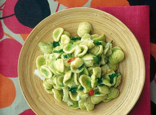 Orecchiette al baccalà e broccoli