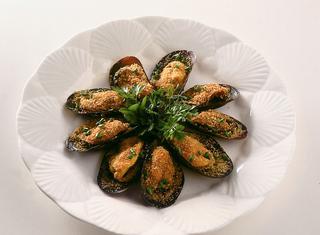 Ricetta Cozze al forno gratinate