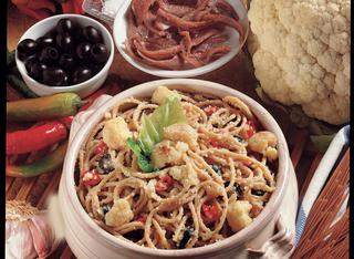 Spaghetti alla crema di cavolfiore