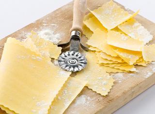Pasta fresca con farina di fagioli