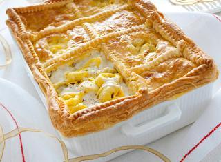 Ricetta Tortellini in crosta di sfoglia