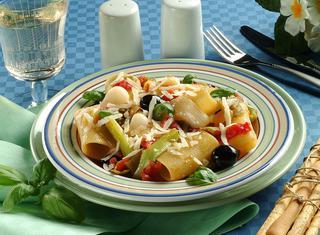 Paccheri taccole e olive