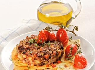 Ricetta Hamburger con pomodorini