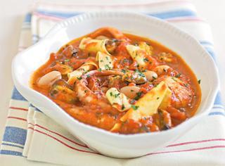 Ricetta Pasta e fagioli con cozze e pesce