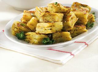 Ricetta Frittata di patate, piselli e cipolle