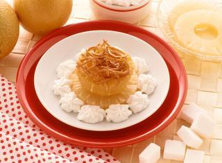 Ricetta Ananas all'arancia