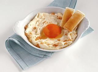 Ricetta Finto uovo al tegamino