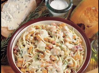 Ricetta Spaghetti zucca e gorgonzola