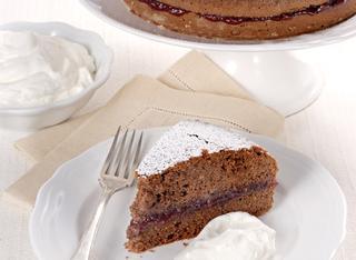 Ricetta Torta saracena con noci e cacao