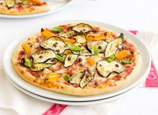 La pizza vegetariana