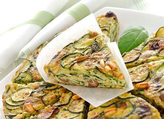 Ricetta Frittata di zucchine e pinoli al forno
