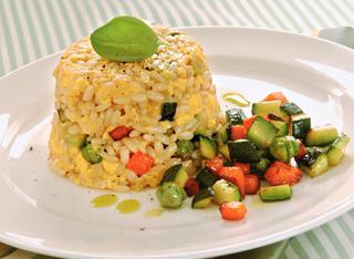 Ricetta Tortini di riso con verdure