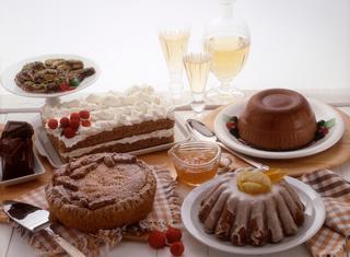 Ricetta Torta biscuit con pere e mascarpone